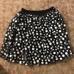 Black and white skirt - Lane Bryant size 14/16